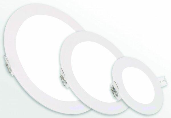 Imperialux Typ 16331 Einbau LED-Panel Slimbau, runde Ausführung