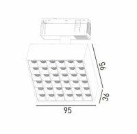 Imperialux Typ 48V System Square LED Modul...